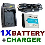 Travel Charger Set (AC Wall Plug + Car Adapater) + Replacement NP-BD1 / NP-FD1 Battery Pack for Sony CyberShot G & T Series Digital Cameras
