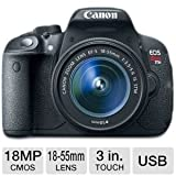 Canon EOS Rebel T5i DSLR Camera with 18-55m Bundle