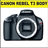 Canon Rebel T3 12.2 MP Body (Broken Kit Box) w/ Supplied Manufacturer Accessories