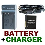 Travel Charger Set (AC Wall + Car Adapter) + KLIC-7001 Battery Pack for Kodak EasyShare M341, M1063, M1073 IS, M320, M340 & M753 Digital Cameras