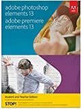 Adobe Photoshop Elements & Premiere Elements 13 - Student and Teacher Edition [Download]