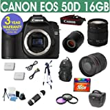 Refurbished Canon EOS 50D + Sigma 18-200 Lens + 800mm Mirror Lens