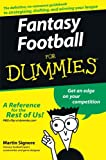 Fantasy Football For Dummies<sup>®</sup>