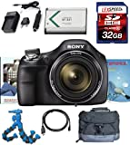 Sony Cyber-shot DSC-H400 DSCH400/B DSCH400B H400 Digital Camera (Black) + 32GB Deluxe Accesory Kit