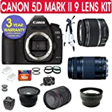 Canon EOS 5D MARK II Digital SLR Camera + Deluxe Camera Outfit